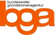 Logo der Bundesweiten Gründerinnenagentur bga