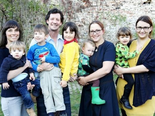 Team vom Coworking Toddler - neue Form der Kinderbetreuung