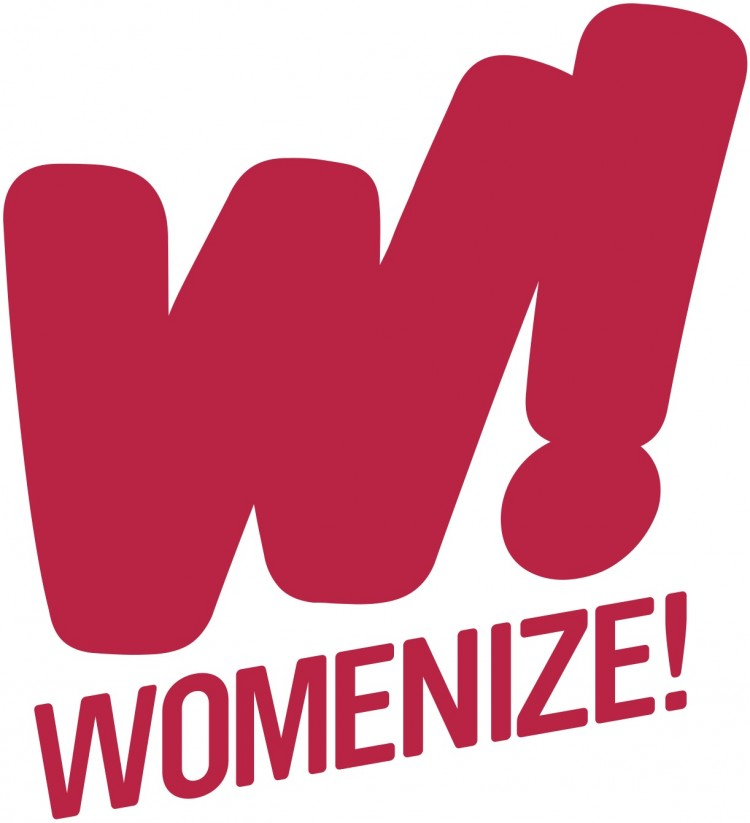 W! Womenize - Logo