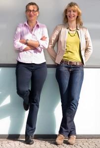 startbox-team Nadja Bungard und Andrea Rochlitz