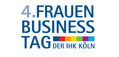 Logo des 4.Frauen-Business-Tag der IHK Köln