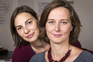 Die Gründerinnen von Hummel&Wolf Irene Hummel und Daniela Wolf