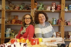 Karin Huber und Elke Simmel