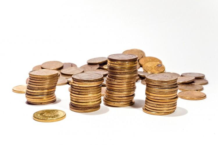 Münzentürme, geld