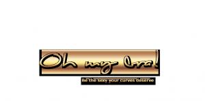 Logoschriftzug Oh my bra
