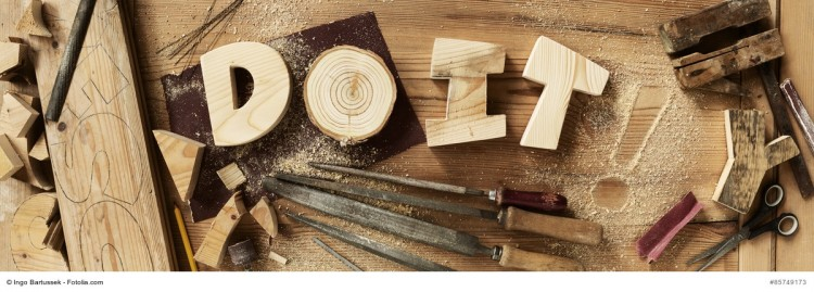DO IT Buchstaben aus Holz - SHE works! Onlinemagazin Januar 2016