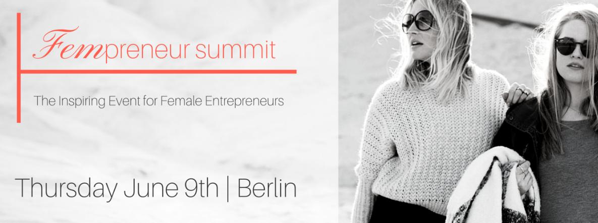 Fempreneur Summit 2016 by Maxi Knust