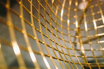 Goldenes Gitter