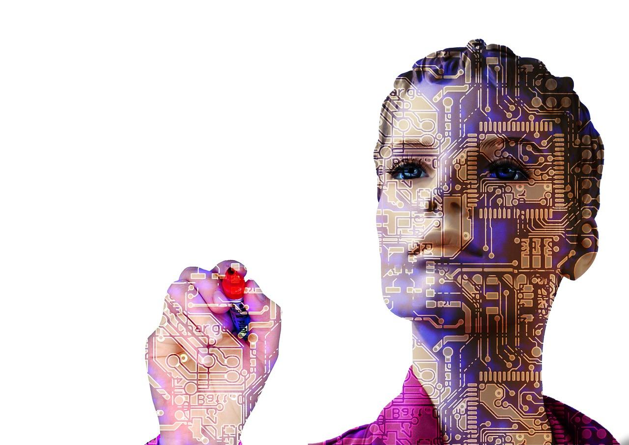 Roboterfrau Gendering MINT