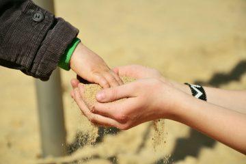 fühlen haptisch Hand