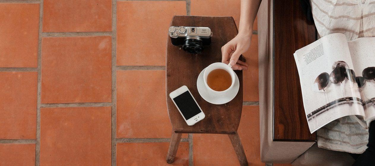Frauen Cafe Entspannung