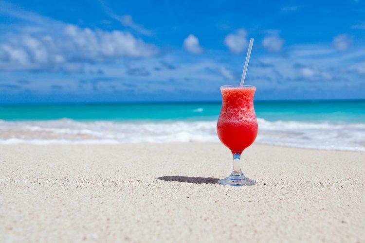 Strand Cocktail Abschalten