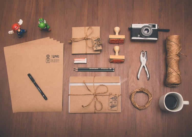 strukturierte Ordnung Schreibtisch
