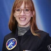 Die Astronautin Finalistin Insa Thiele-Eich