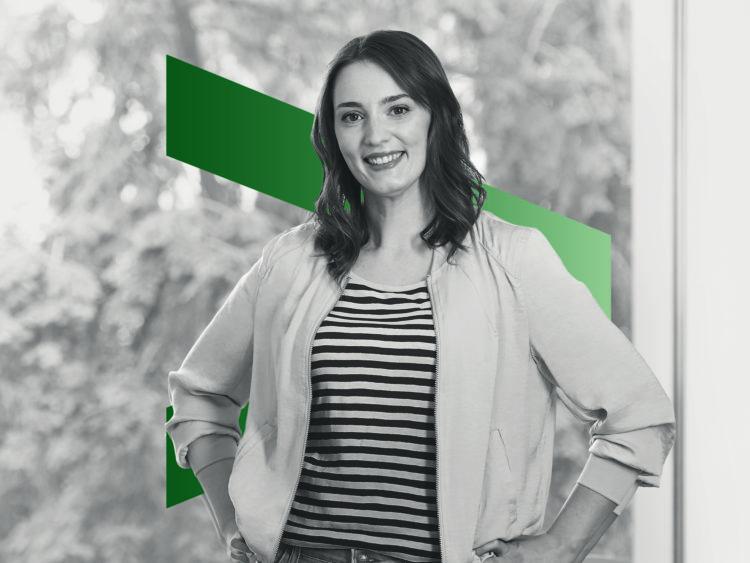 Natalie Faber entwickelt Künstliche Intelligenz bei Accenture