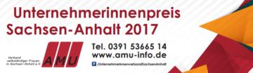 11.Unternehmerinnenpreis Sachsen-Anhalt