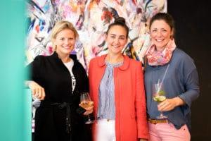 Cécile Wickmann (Gründerin von Rebelle.com), Sibilla Kawalla (Gründerin von Limberry), Antonia Schlüter (Gründerin von Schalotti) | Fotograf Nico Pätzold