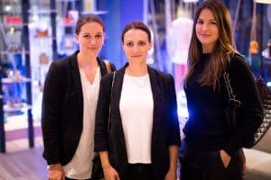 Catharina von Rogister, Bernadette Brysch, Gründerinnen von Cicé Kosmetik / Eva Wüller, Gründerin von Ovy | Fotograf Nico Pätzold