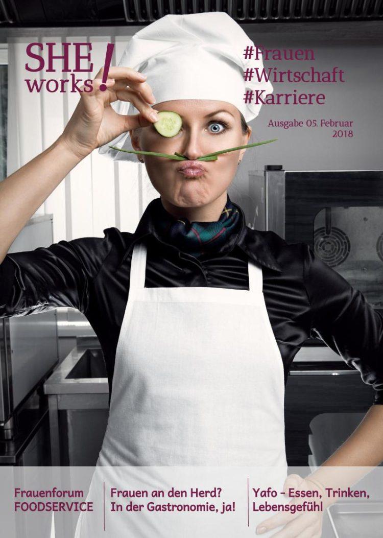 Frauen in der Gastronomie - SHE works! Magazin