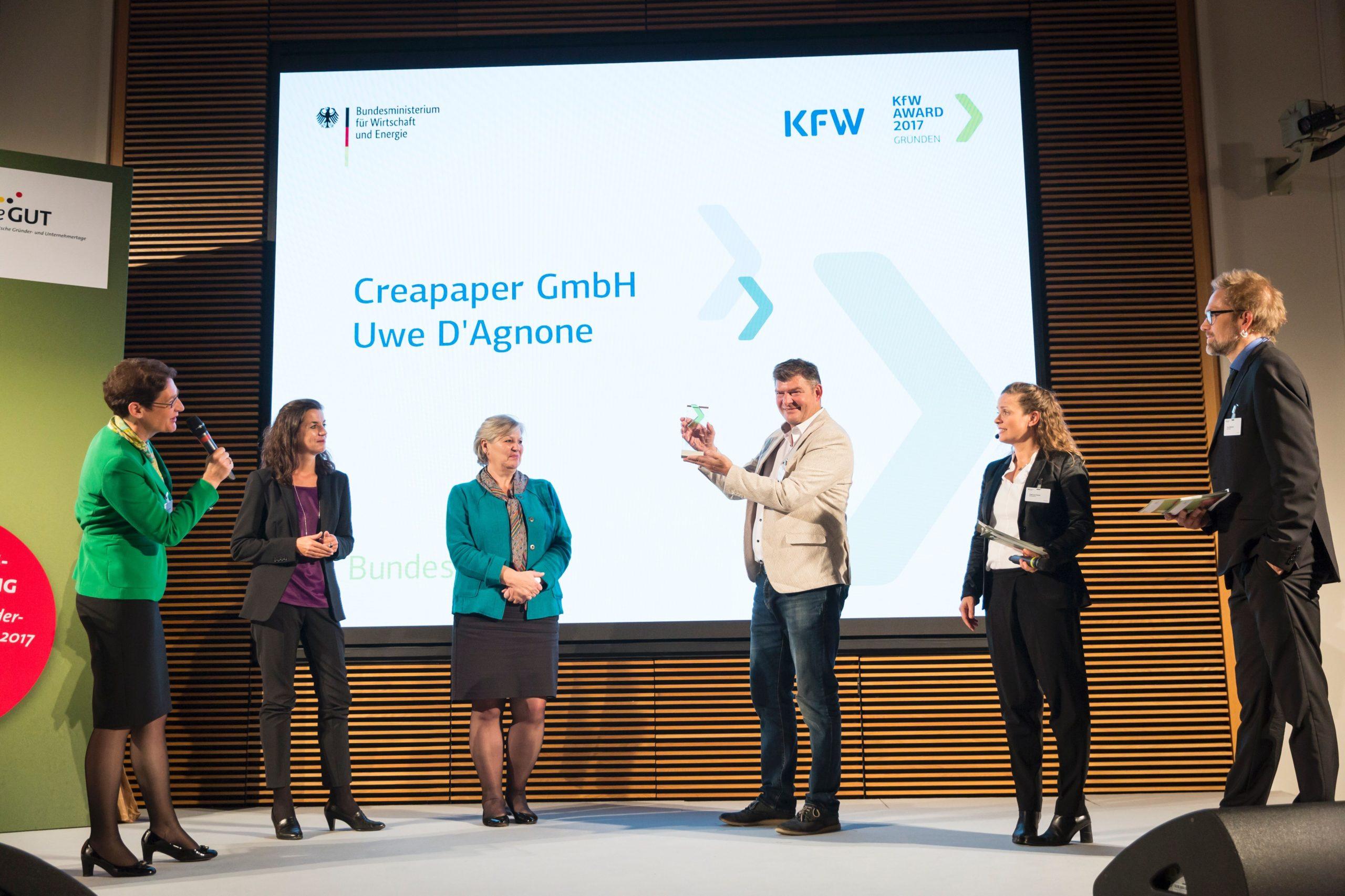 Auszeichnung für innovative Unternehmen: Bewerbung KfW Award Gründen bis  1.08.