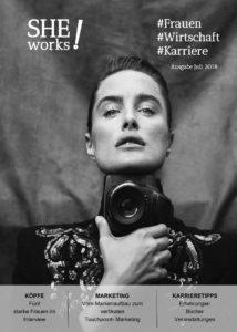 Daniella Midenge - SHE works Magazin Cover Macherinnen und Marken