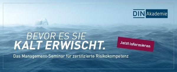 Das Management-Seminar für zertifizerte Risikokompetenz