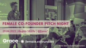 Female Co-Founders Pitch Night