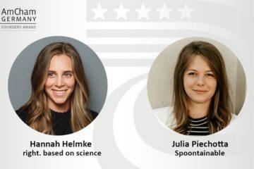 Innovation trifft Nachhaltigkeit: Gewinnerinnen des Female Founders Award