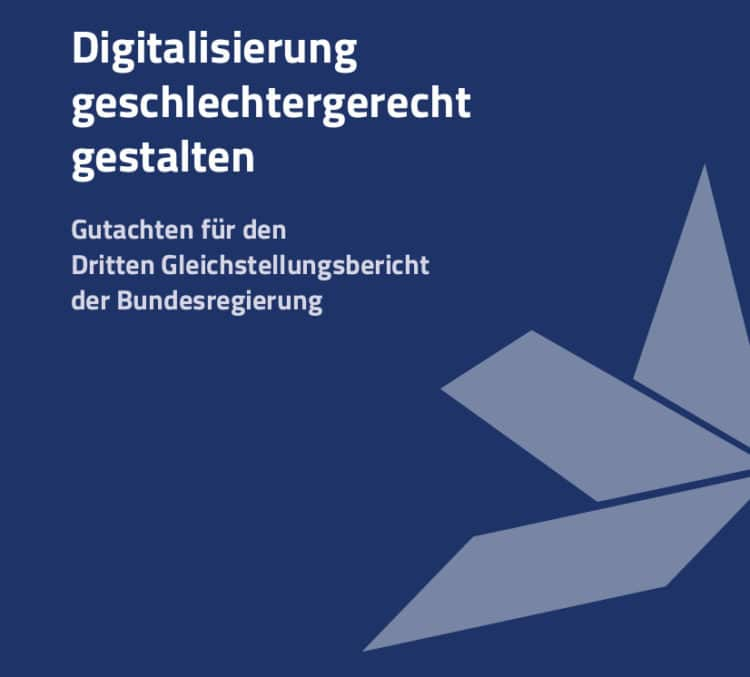 Digitalisierung für die Gleichstellung von Frauen und Männern nutzen