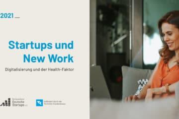 Startup-Verband und Techniker Krankenkasse: Neue Studie zu Arbeit und Gesundheit in Startups