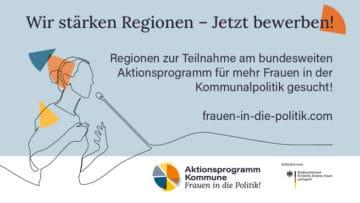 Aktionsprogramm Kommune - Frauen in die Politik