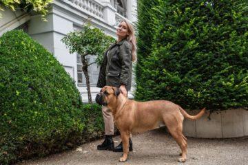 Tierliebhaber: Josefine Schmidt mit Hera im gelebtem New Work